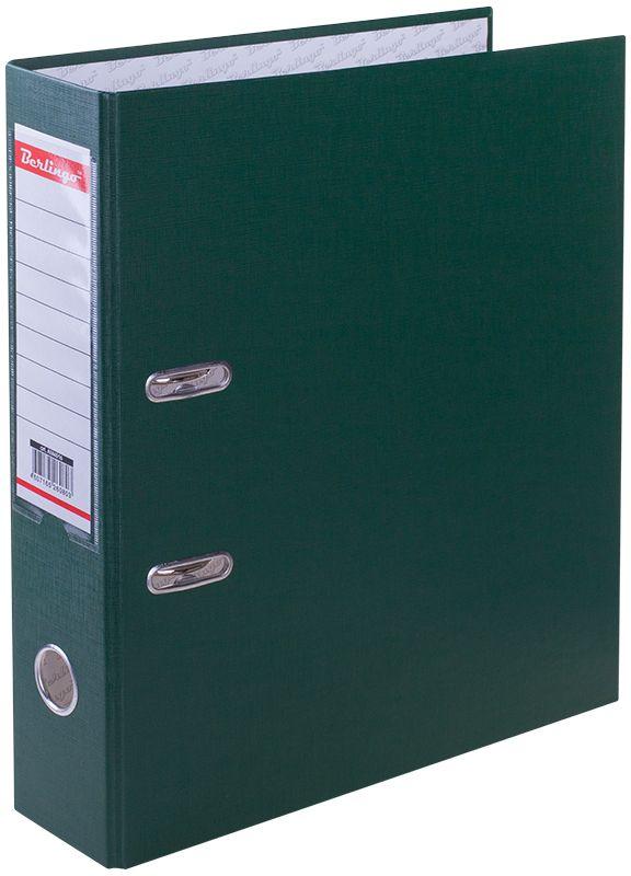 Berlingo Папка-регистратор ширина корешка 70 мм цвет зеленый AM4516 berlingo флипчарт premium 70 х 100 см