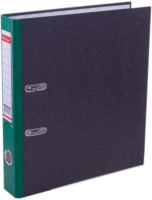Berlingo Папка-регистратор цвет мраморный зеленыйATm_50504Папка-регистратор Berlingo пригодится в каждом офисе и доме для хранения больших объемовдокументов.Обложка изготовлена из жесткого износостойкого картона. Папкаоснащена прочным металлическим арочным механизмом, обеспечивающим надежную фиксациюперфорированных бумаг и документов формата А4. Круглое отверстие в корешке папки облегчитее извлечение с полки, а прозрачный карман со съемной этикеткой позволяет маркироватьсодержимое. На внутренней стороне обложки размещено поле для записей.Нижняя грань папки имеет металлическую окантовку.Папка-регистратор станет вашим надежным помощником, она упростит работу с бумагами идокументами и защитит их от повреждения, пыли и влаги.