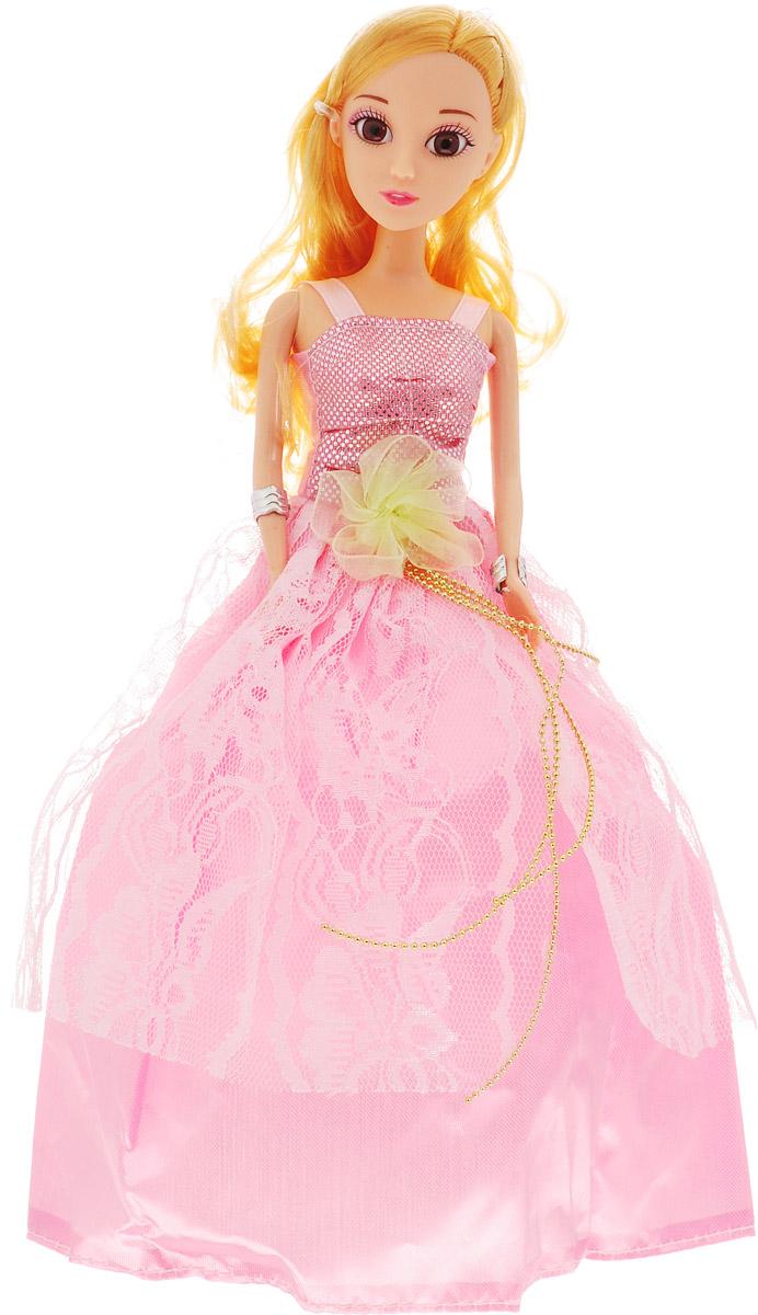 Veld-Co Кукла Принцесса цвет платья розовый