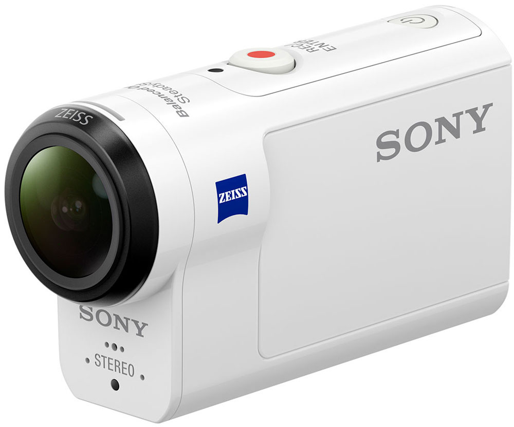 Sony HDR-AS300, White экшн-камера видеокамера sony hdr pj620