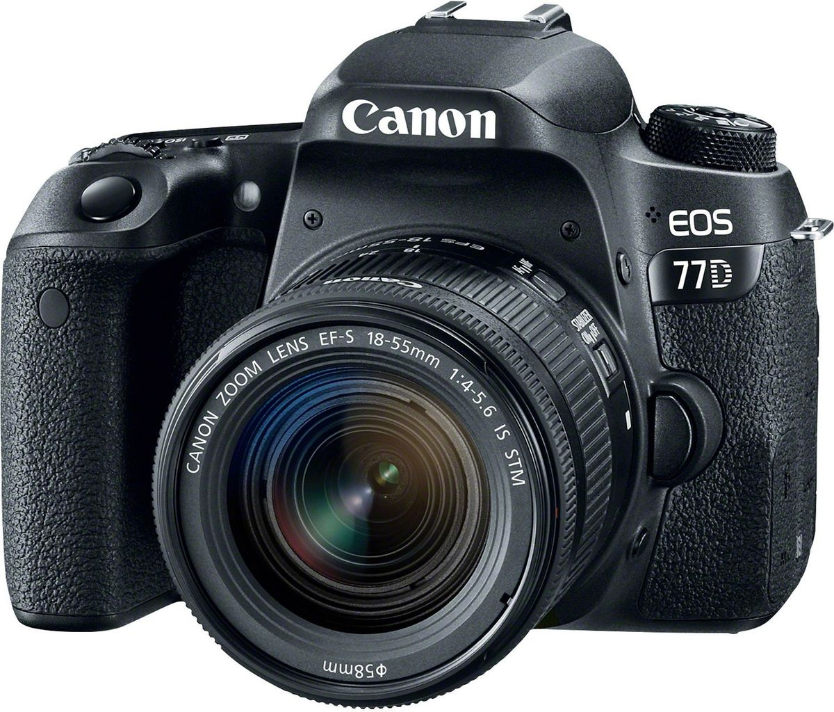 Canon EOS 77D Kit 18-55 IS STM цифровая зеркальная фотокамера canon eos 77d body