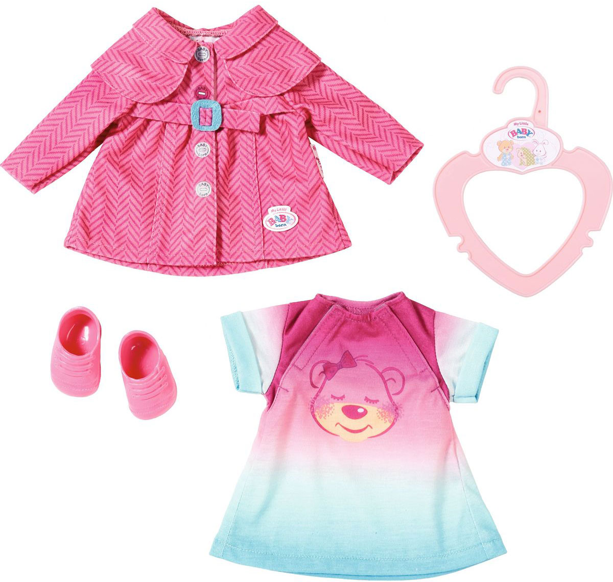 Baby Born Прогулочный комплект одежды для куклы aod270 268blw acer купить