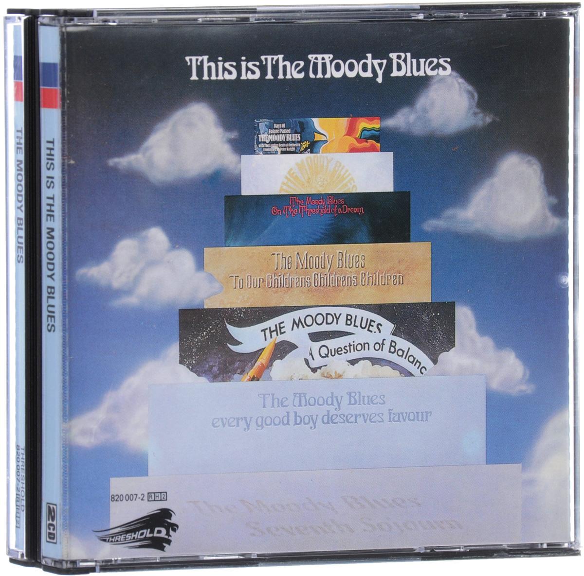 The Moody Blues The Moody Blues. This Is The Moody Blues (2 CD) blues band the blues band wire less