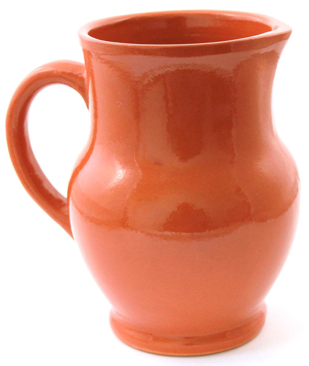 Кувшин Ломоносовская керамика Глинка, 1,3 л1К3-1Кувшин Ломоносовская керамика изготовлен из высококачественной глины. Он прекрасно подходит для подачи воды, сока, компота и других напитков. Изящный кувшин красиво оформит стол и порадует вас элегантным дизайном и простотой ухода.Диаметр: 16 см.Высота: 17,5 см.