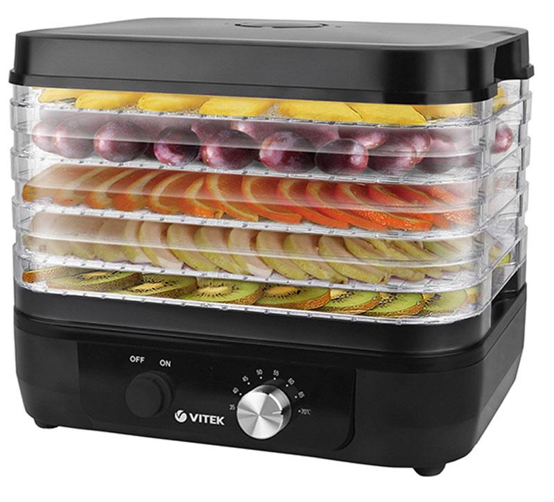 Vitek VT-5051(BK) сушилка для овощей и фруктов - Техника для хранения, консервации и заготовок