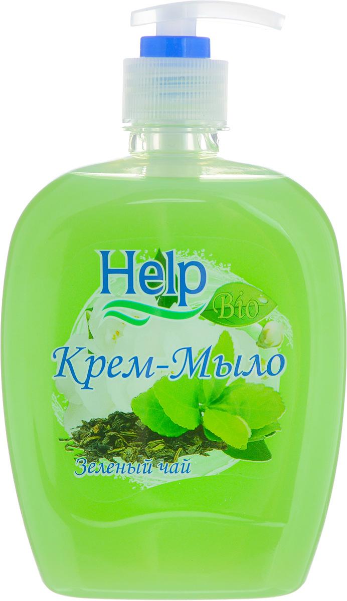 Жидкое мыло Help Зеленый чай, с дозатором, 500 г4605845001401Мыло Help Зеленый чай мягко очищает, увлажняет, придает мягкость коже рук. Специальные компоненты дополнительно питают кожу рук во время мытья. Мыло обладает гипоаллергенной парфюмерной композицией с ярким ароматом и пышной пеной.Товар сертифицирован.Уважаемые клиенты!Обращаем ваше внимание на возможные изменения в дизайне упаковки. Качественные характеристики товара остаются неизменными. Поставка осуществляется в зависимости от наличия на складе.