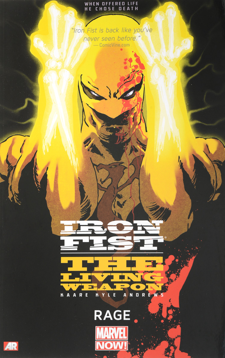 Iron Fist: The Living Weapon: Volume 1: Rage диолд аш 1172