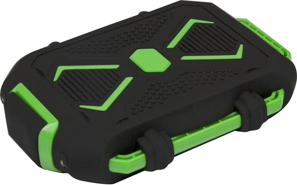 Ritmix RPB-10407LST, Black Green внешний аккумулятор (10400 мАч) - Аккумуляторы