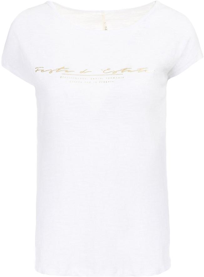 Футболка женская Baon, цвет: белый. B237030_White. Размер XL (50) baon ba007ewloe45 baon