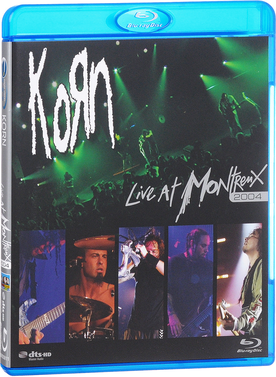 Korn: Live At Montreux 2004 (Blu-ray) blu ray диск joel billy live at shea stadium 1 blu ray