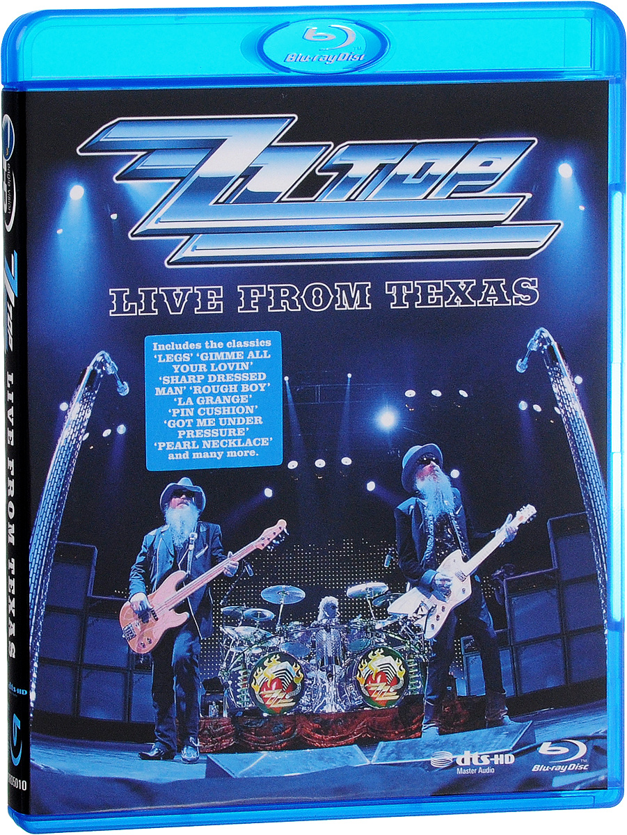 ZZ Top: Live From Texas (Blu-ray) francis rossi live from st luke s london blu ray