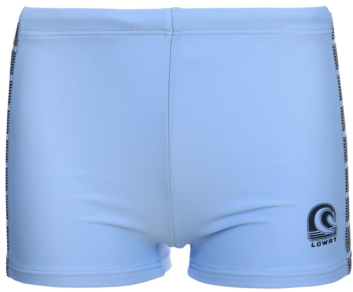 Плавки для мальчика Lowry, цвет: голубой, синий. BST-9. Размер M (110/116)BST-9Плавки для мальчика Lowry, изготовленные из качественного материла, позволяют коже дышать, быстро сохнут и сохраняют первоначальный вид и форму даже при длительном использовании. Плавки подходят как для занятий в бассейне, так и для пляжного отдыха.