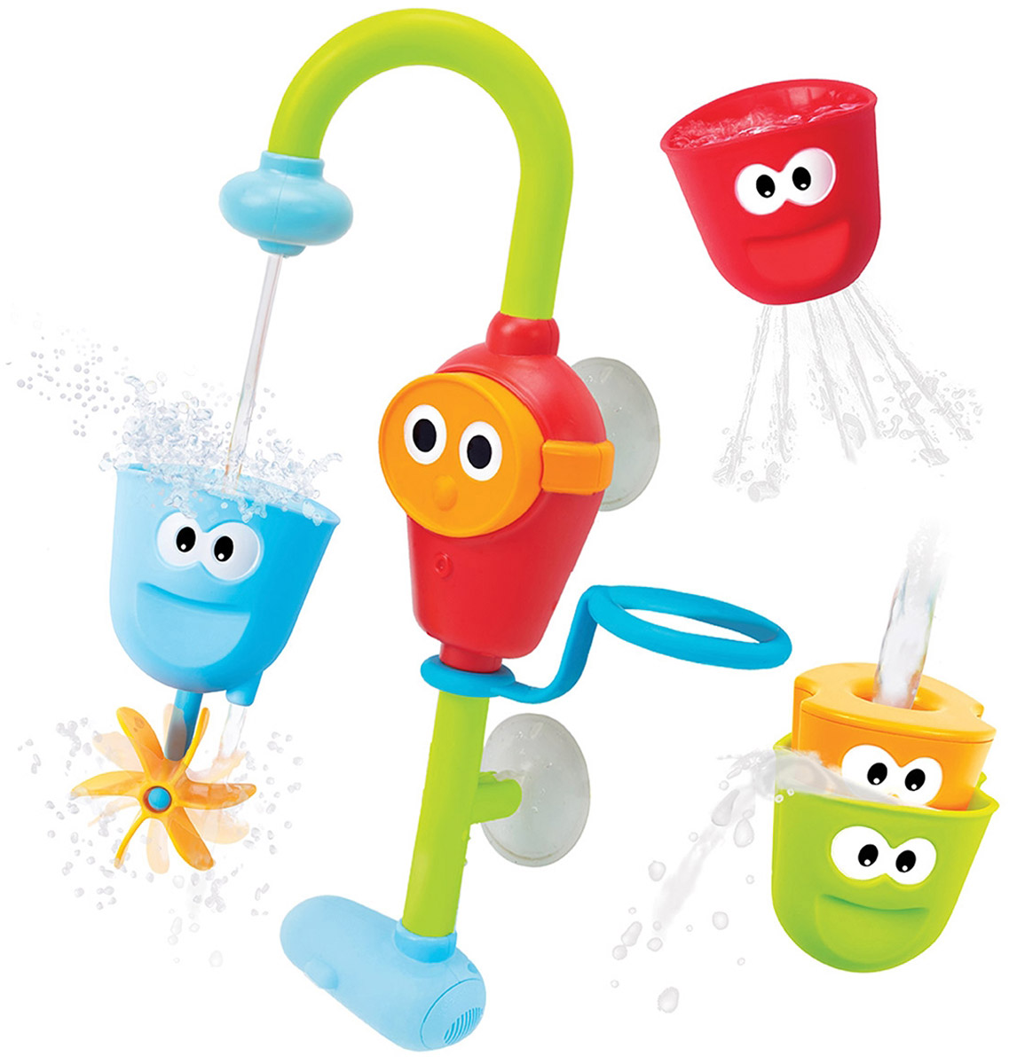 Yookidoo Игрушка для ванной Волшебный кран купить нагреватель воды на кран в ванную