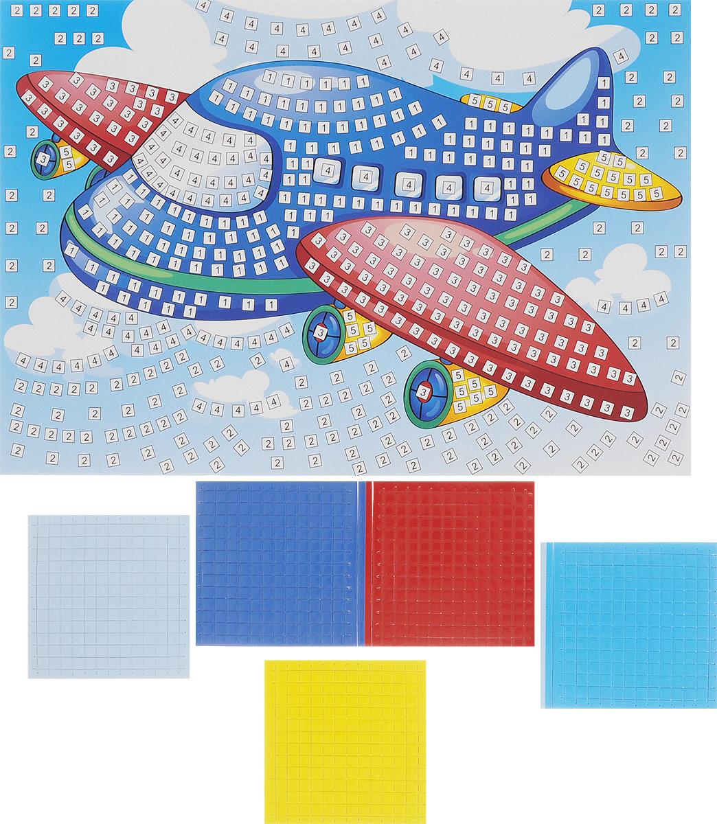 Рыжий Кот Мозаика мягкая Самолет издательство рыжий кот мягкая мозаика веселый самолет формат а5 21х15 см