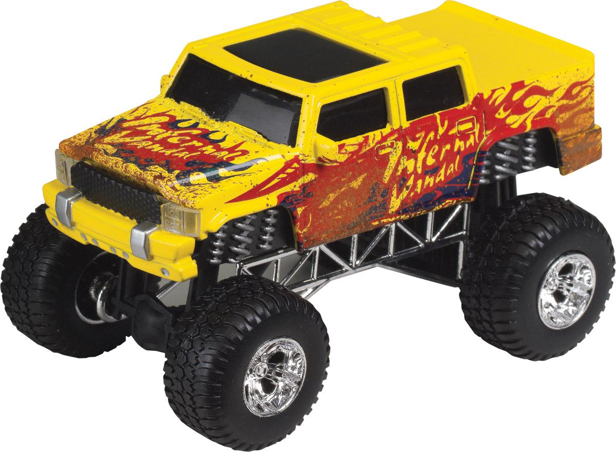 Dickie Toys Джип Dirt Monster цвет желтый dickie toys городской трамвай