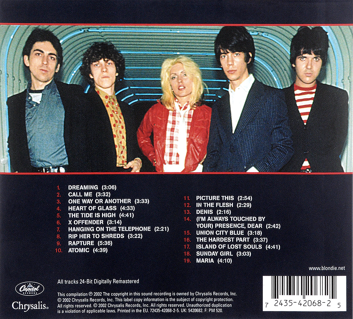 Blondie.  Greatest Hits