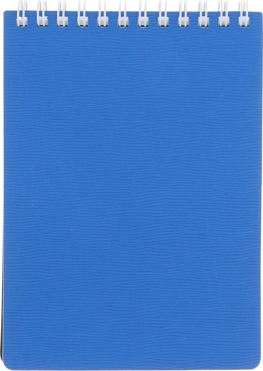 Hatber Блокнот Wood 80 листов цвет голубой1020815Блокнот - компактное и практичное полиграфическое изделие, предназначенное для записей и заметок. Такой аксессуар прекрасно подойдёт для фиксации повседневных дел.Блокнот Hatber Wood на спирали содержит 80 листов в клетку формата А6. Обложка выполнена из пластика.Это канцелярское изделие отличается красочным оформлением и придётся по душе как взрослому, так и ребёнку.
