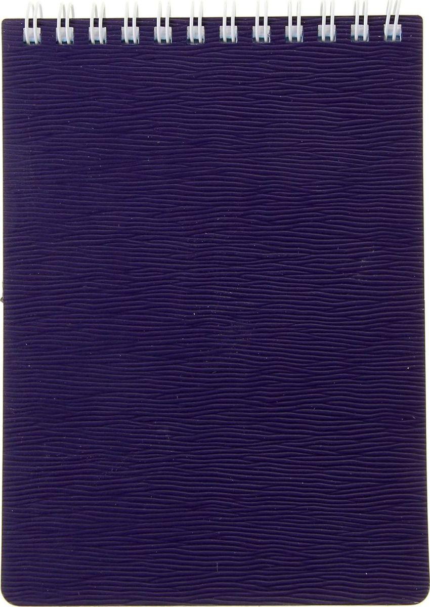 Hatber Блокнот Wood 80 листов цвет фиолетовый1050982Блокнот - компактное и практичное полиграфическое изделие, предназначенное для записей и заметок. Такой аксессуар прекрасно подойдёт для фиксации повседневных дел.Блокнот Hatber Wood на спирали содержит 80 листов в клетку формата А6. Обложка выполнена из пластика.Это канцелярское изделие отличается красочным оформлением и придётся по душе как взрослому, так и ребёнку.