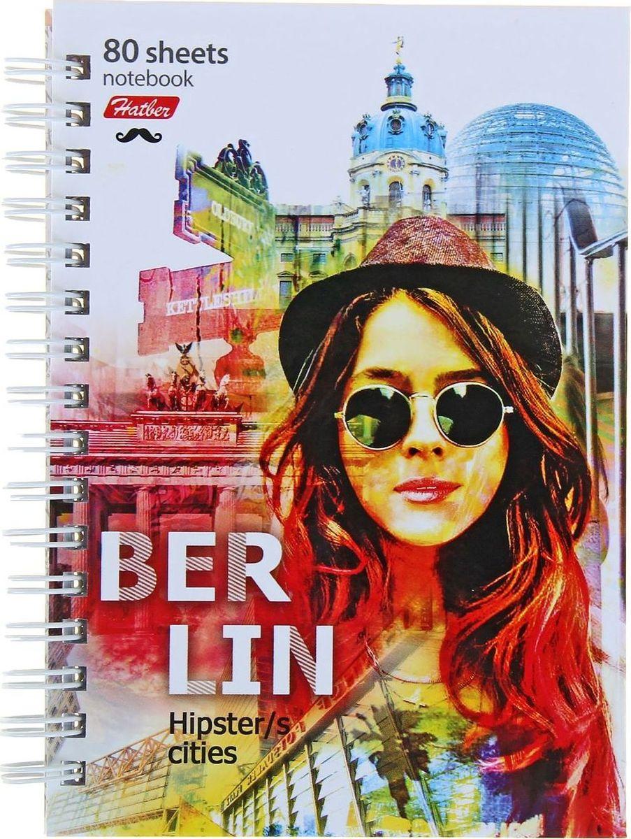 Hatber Записная книжка Лица городов 80 листов1139172