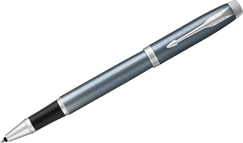 Parker Ручка-роллер IM Light Blue Grey CT черная