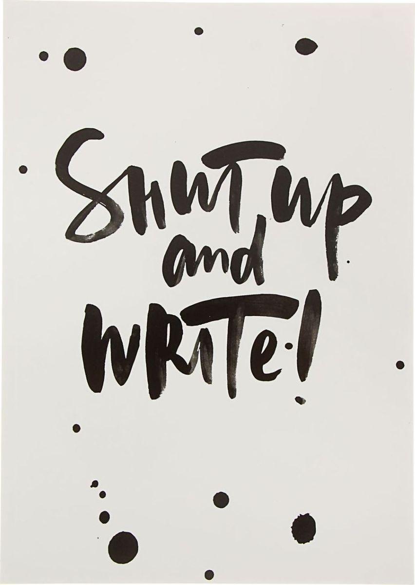 Подписные издания Тетрадь для записи Shut Up 40 листов1734446Тетрадь для записи Shut Up создана дизайнером Клемазовой Наташей и издательством Подписные издания. Такое изделие пригодится для ведения конспектов и творчества на полях. Оно изготовлено из плотной бумаги и подходит для рисования карандашами и ручками. Мягкая и гибкая обложка скрывает в себе 40 листов в клетку.