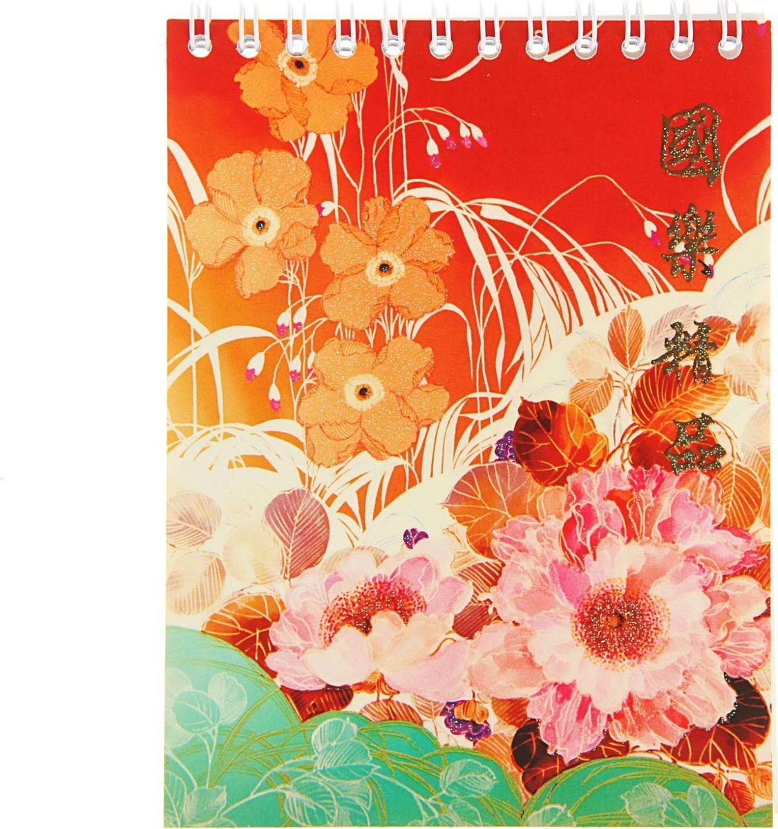 ТетраПром Блокнот Китайский шелк 40 листов