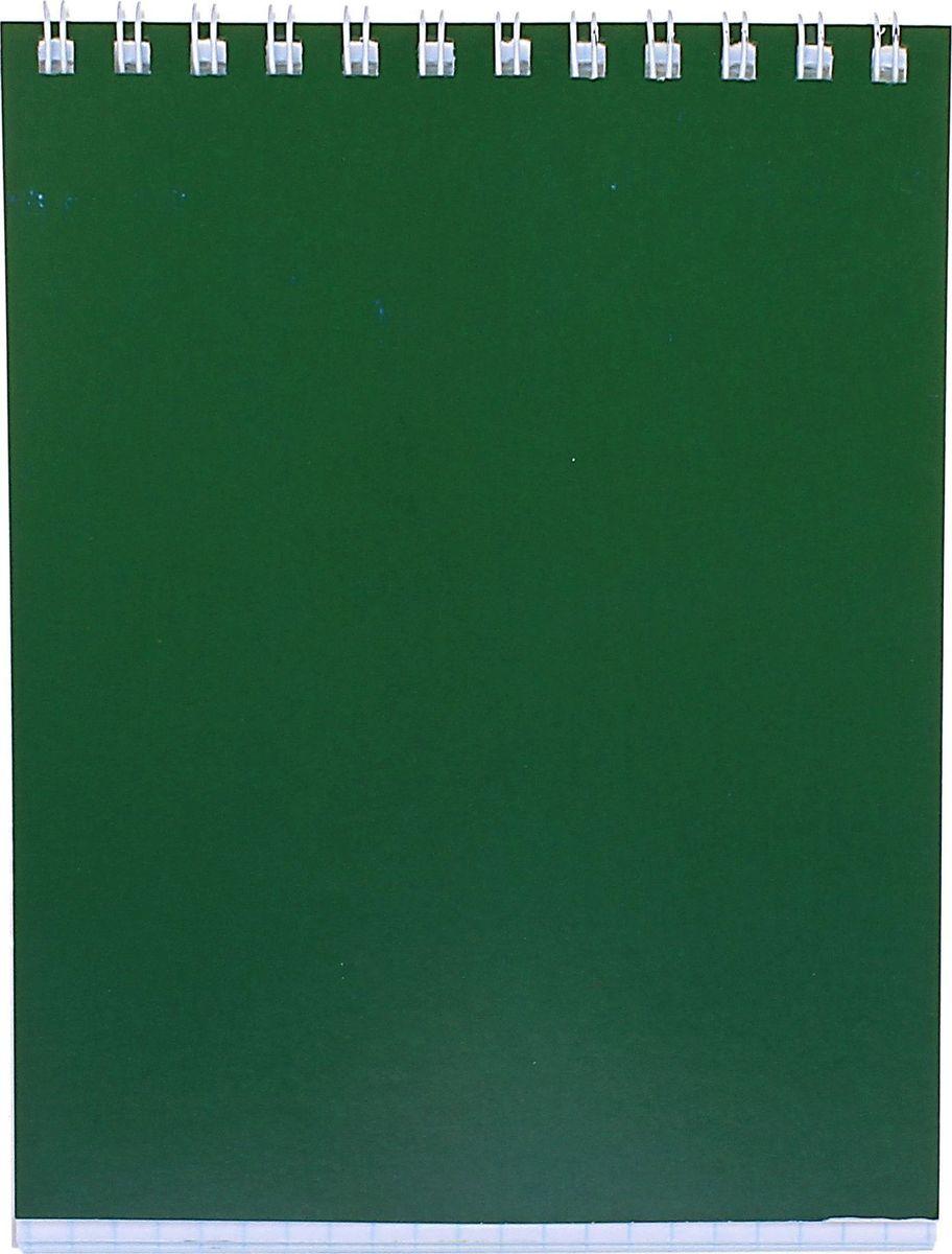 ПЗБФ Блокнот Корпоративный 40 листов цвет зеленый Формат A6 корпоративный пейнтбол