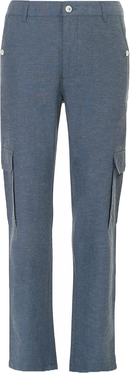 Брюки мужские Baon, цвет: синий. B797015_Deep Navy. Размер XL (52) брюки для дома мужские diesel цвет синий 00sj3i 0damk 05 размер xl 50