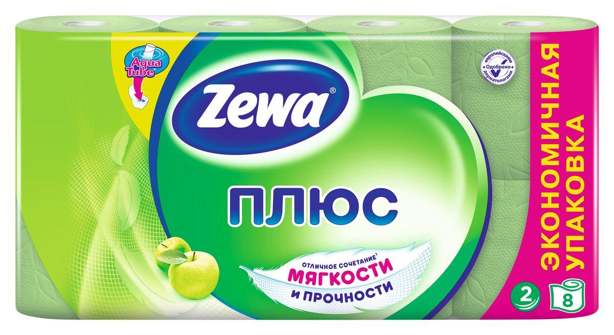 Туалетная бумага Zewa Плюс Яблоко, 2 слоя, 8 рулонов02.03.05.144006Туалетная бумага Zewa Плюс - это отличное сочетание мягкости и прочности. Она одобренадерматологами и прекрасно подойдет всем членам вашей семьи – и тем, кому нужна мягкая бумага, и тем, кому важна прочность.Позаботьтесьо себе и своих близких вместе с Zewa.Сенсация! Со смываемой втулкой Aqua Tube!Зеленая 2-х слойная туалетная бумага с ароматом яблока8 рулонов в упаковкеСостав: вторичное сырьеПроизводство: Россия