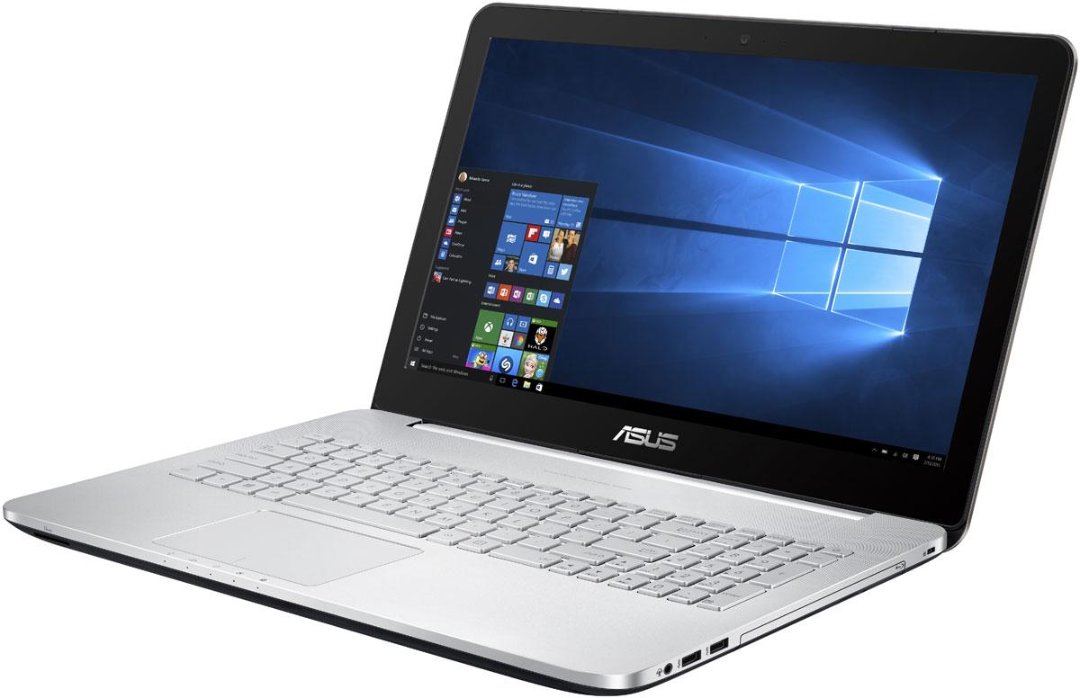ASUS N552VW, Silver (N552VW-FY251T)N552VW-FY251TASUS N552VW - современный ноутбук, оптимизированный под мультимедийные приложения. Обладая мощным процессором и видеокартой, дисплеем формата Full HD и высококачественной встроенной аудиосистемой с технологией SonicMaster, модель N552 предлагает всем пользователям получить яркие впечатления от живого звука и красочного изображения.За высокую скорость работы различных приложений на ноутбуке VivoBook Pro N552 отвечает четырехъядерный процессор Intel Core i7-6700HQ, дополненный 16 гигабайтами оперативной памяти стандарта DDR4, а твердотельный накопитель, подключенный по шине PCIe x4, обеспечивает быстрое чтение и запись пользовательских файлов.Просмотр фильмов, редактирование изображений и видеороликов, новейшие компьютерные игры – ноутбук VivoBook Pro N552 способен справиться с любыми задачами, связанными с графикой, ведь в его конфигурацию входит мощная дискретная видеокарта NVIDIA GeForce GTX 960M.Дисплей данного ноутбука может похвастать расширенным цветовым охватом. Он способен отображать 72% оттенков цветового пространства NTSC, 100% оттенков пространства sRGB и 74% оттенков пространства AdobeRGB. Иными словами, изображение на его экране будет отличаться более точной цветопередачей по сравнению с тем, на что способны обычные ноутбучные дисплеи.Имея размер в 15,6 дюймов, IPS-дисплей ноутбука VivoBook Pro N552 обладает в два раза большим разрешением как по вертикали, так и по горизонтали по сравнению со стандартными дисплеями формата Full-HD, а это означает невероятно высокую пиксельную плотность – 282 пикселя на дюйм! В результате любые фотографии и видеоролики, снятые с высоким разрешением, будут выглядеть на экране этого ноутбука невероятно четко.Превосходный звук нового ноутбука ASUS обеспечивает технология SonicMaster, разработанная совместно со специалистами фирмы ICEpower. Она представляет собой комплекс аппаратных и программных средств, выдающих беспрецедентное для мобильных компьютеров качество звучания.Для н