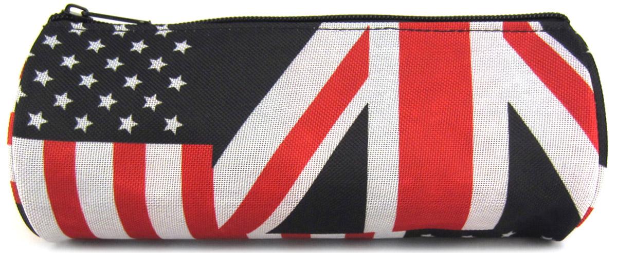 Creative Пенал British Flag цвет мультиколорGL-CS213Удобный, стильный, актуальный и вместительный пенал Creative British Flag поможет содержать в порядке массу необходимых мелочей.Пенал изготовлен из прочного полиэстера и состоит из одного вместительного отделения, закрывающегося на застежку-молнию.Такой пенал станет незаменимым помощником, а яркий принт и беспроигрышное сочетание цветов будут поднимать настроение владельцу и окружающим.
