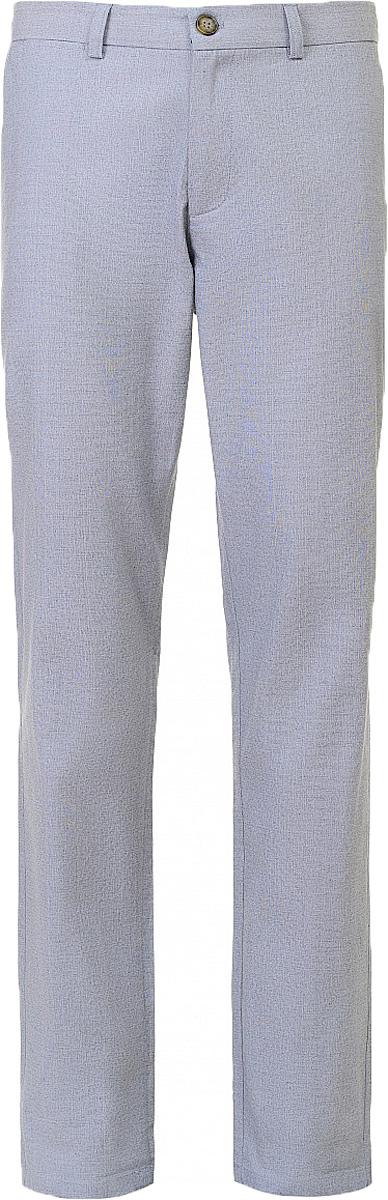 Брюки мужские Baon, цвет: синий. B797019_Deep Navy. Размер XXL (54) водолазка мужская baon цвет синий b727502 baltic blue melange размер xxl 54