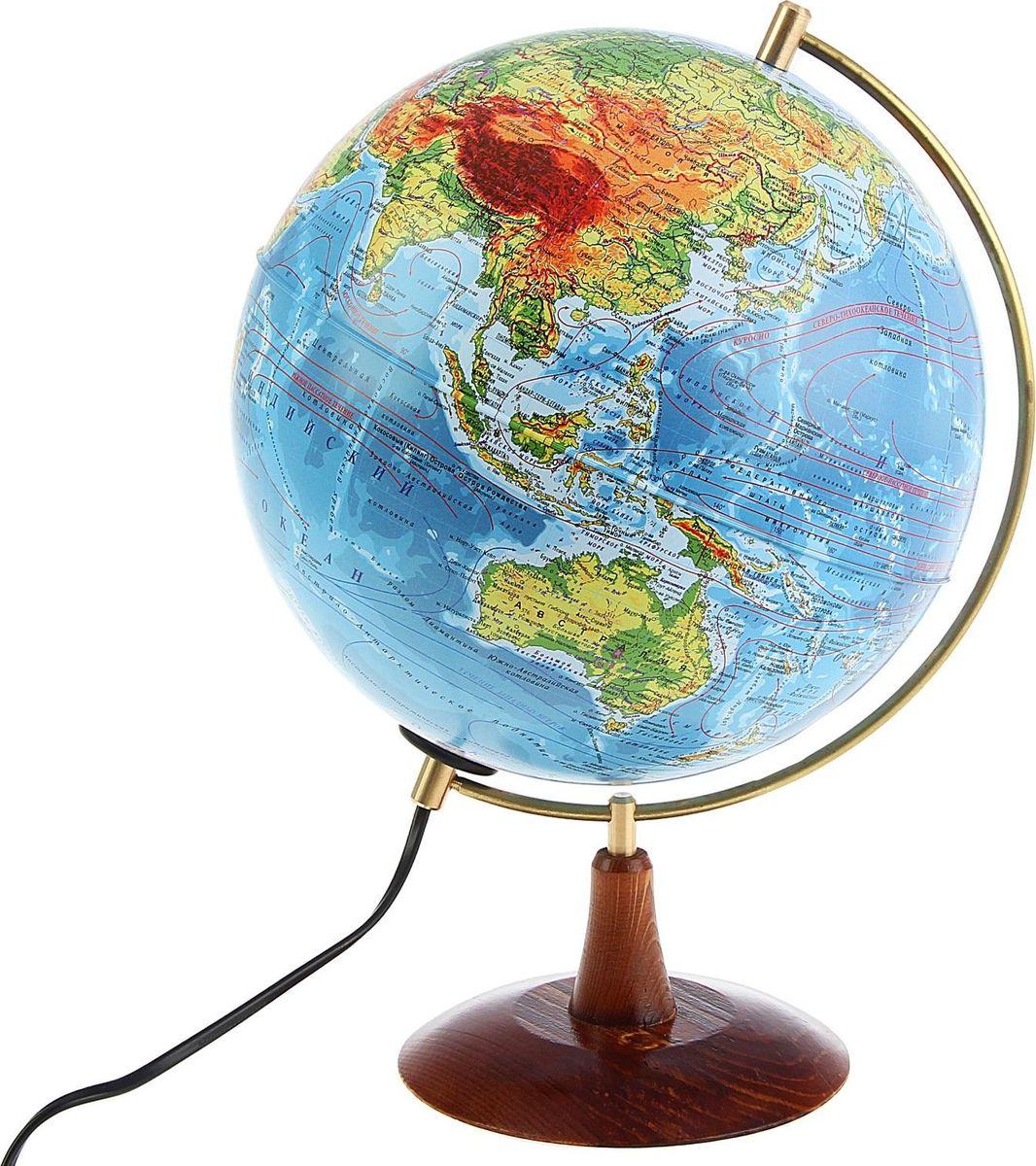 Глобен Глобус физический Элеганс диаметр 25 см1300411Глобус физический Глобен Элеганс на удобной подставке. Изготовлен из высококачественного пластика. Яркие цвета и точная картография.Глобус - самый простой способ привить ребенку любовь к географии. Он является отличным наглядным примером, который способен в игровой доступной и понятной форме объяснить понятия о планете Земля.Также интерес к глобусу проявят не только детки, но и взрослые.