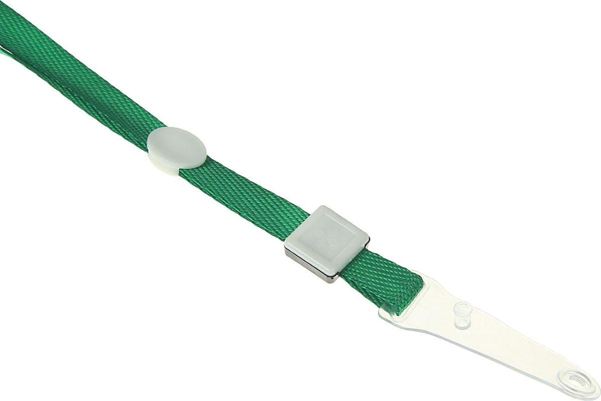 CalligrataЛента для бейджа длина 80 см ширина 10 мм цвет зеленый 1505485 Calligrata