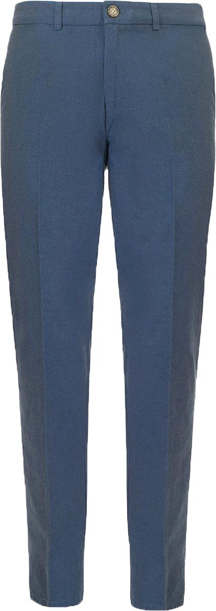 Брюки мужские Baon, цвет: синий. B797008_Deep Navy. Размер XXL (54) водолазка мужская baon цвет синий b727502 baltic blue melange размер xxl 54