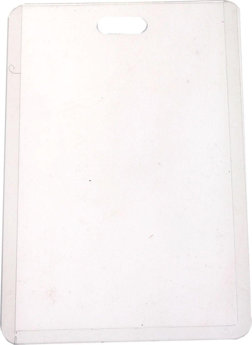 Бейдж вертикальный 10,2 х 6,5 см660155Бейдж - неотъемлемый атрибут любого офиса или компании. Он является визитной карточкой сотрудника.Вертикальный бейдж изготовлен из прозрачного пластика. Бейдж имеет закругленные углы, что обеспечивает износостойкость и опрятный внешний вид.