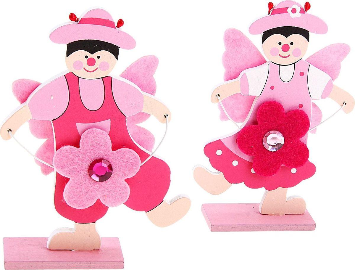 Визитница Веселая парочка танцующие с цветочком 2 шт729697