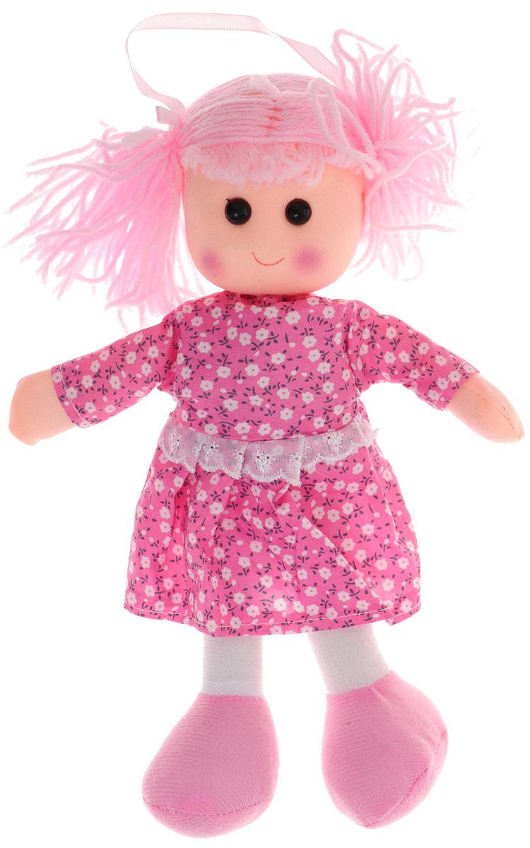 Sima-land Мягкая кукла в платье с кружевом цвет розовый sima land мягкая кукла оля с держателем и полотенцем цвет желтый