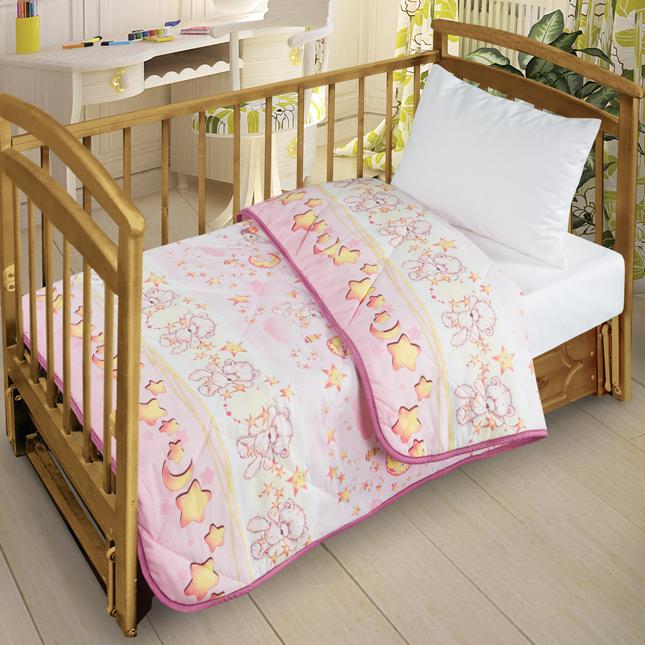 Letto Детское покрывало-одеяло цвет розовый 110 см х 140 см