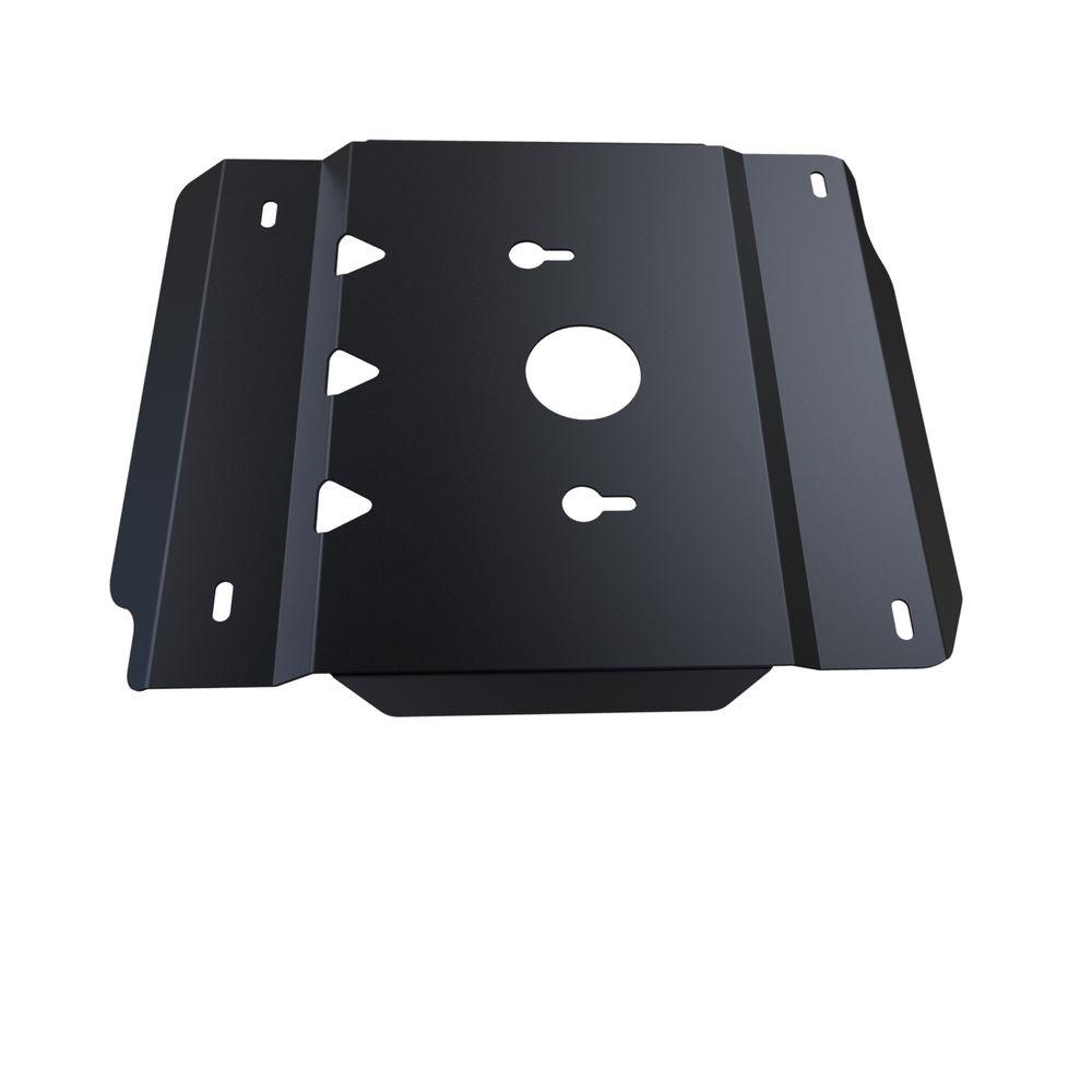 Защита КПП и РК Автоброня UAZ Hunter 2010-, сталь 3 мм222.06304.1Защита КПП и РК Автоброня UAZ Hunter 2010-, сталь 3 мм, комплект крепежа, 222.06304.1Стальные защиты Автоброня надежно защищают ваш автомобиль от повреждений при наезде на бордюры, выступающие канализационные люки, кромки поврежденного асфальта или при ремонте дорог, не говоря уже о загородных дорогах.- Имеют оптимальное соотношение цена-качество.- Спроектированы с учетом особенностей автомобиля, что делает установку удобной.- Защита устанавливается в штатные места кузова автомобиля.- Является надежной защитой для важных элементов на протяжении долгих лет.- Глубокий штамп дополнительно усиливает конструкцию защиты.- Подштамповка в местах крепления защищает крепеж от срезания.- Технологические отверстия там, где они необходимы для смены масла и слива воды, оборудованные заглушками, закрепленными на защите.Толщина стали 3 мм.В комплекте крепеж и инструкция по установке.Уважаемые клиенты!Обращаем ваше внимание на тот факт, что защита имеет форму, соответствующую модели данного автомобиля. Наличие глубокого штампа и лючков для смены фильтров/масла предусмотрено не на всех защитах. Фото служит для визуального восприятия товара.