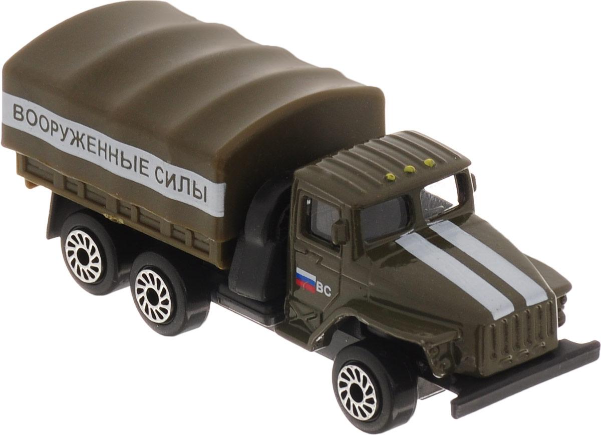ТехноПарк Модель автомобиля Урал Вооруженные силы, Машинки  - купить со скидкой