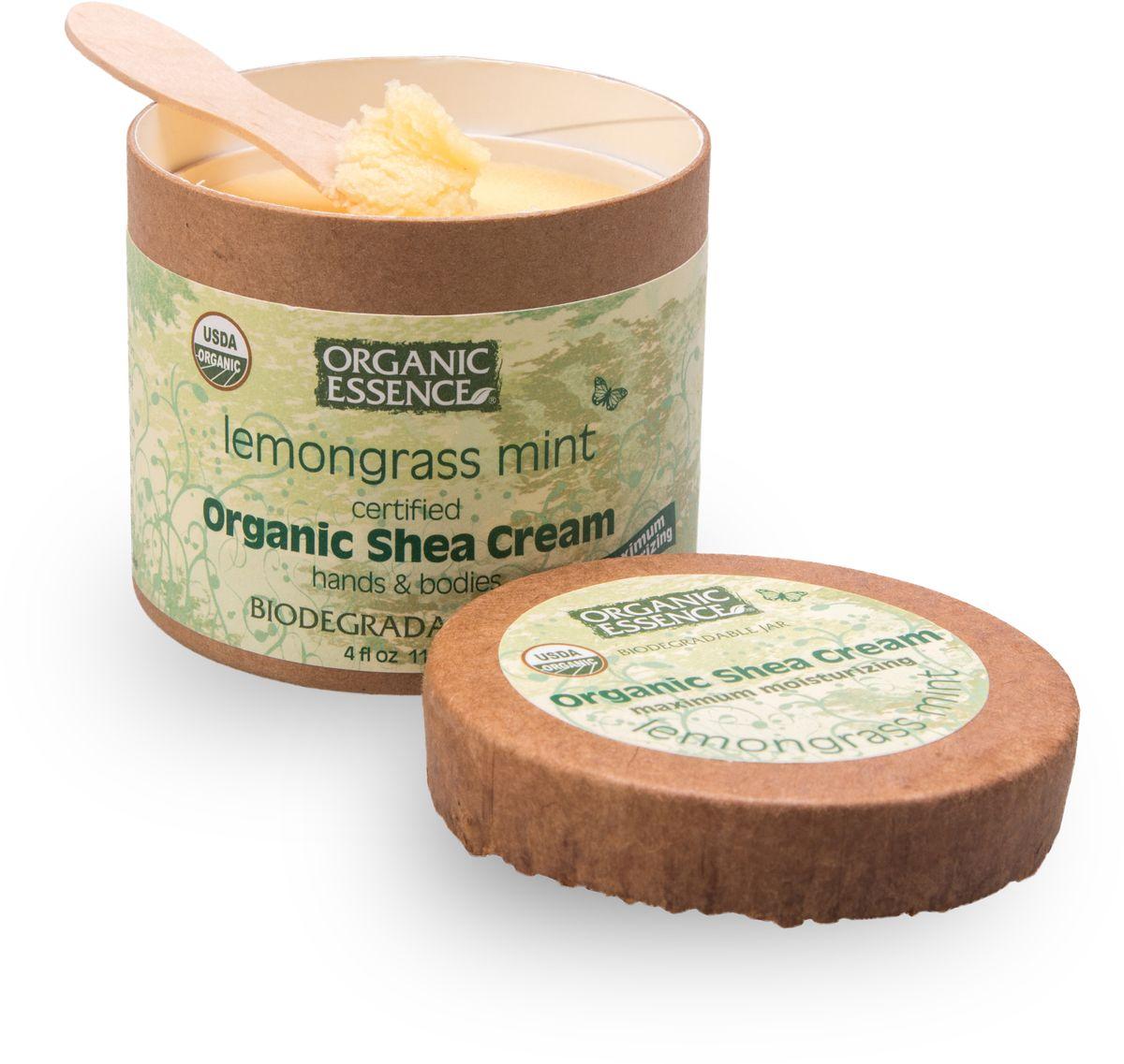 Organic Essence Органический крем Ши (Карите), Лемонгасс и мята 114 г/118 млCCLEMUSDA Organic сертифицированный продукт. Интенсивное увлажнение. Подходит для ежедневного применения. В состав Органического крема Ши входит масло лимонника известно какэффективное тонизирующее средство для кожи,естественнорасширяющее периферическиекровеносныесосуды,стягивающее поры, сглаживающее морщины. В масле лимонника содержится очень много биологически активных веществ. Этот ценный природный продукт, который способствует усилению умственной и физической активности. Масло лимонника способствует концентрации внимания, улучшает память, повышает работоспособность, адаптирует к внешним условиям. Лимонник – природный тоник и антидепрессант. Органическое масло мяты подходит для ухода за жирной и раздраженной кожей. При воспалительных процессах на коже, сосудистой сетке, угревой сыпи, а также синяках и отеках используйтеорганический крем Ши Лемонграсс и Мята. Наслаждайтесьсиянием молодости.