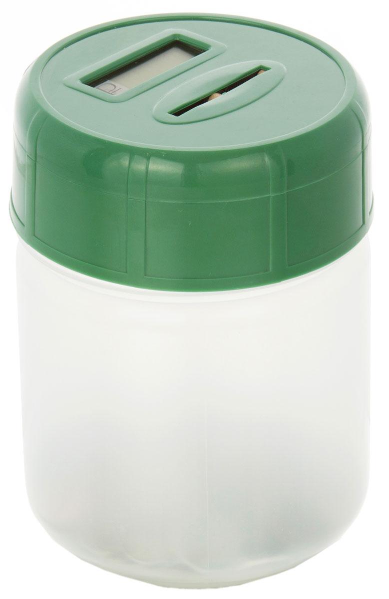 Электронная копилка MAX Сбербанка, цвет: зеленый копилка электронная банкомат цвет красный