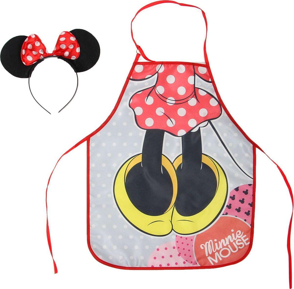 Disney Фартук детский Минни Маус с ободком -  Аксессуары для труда