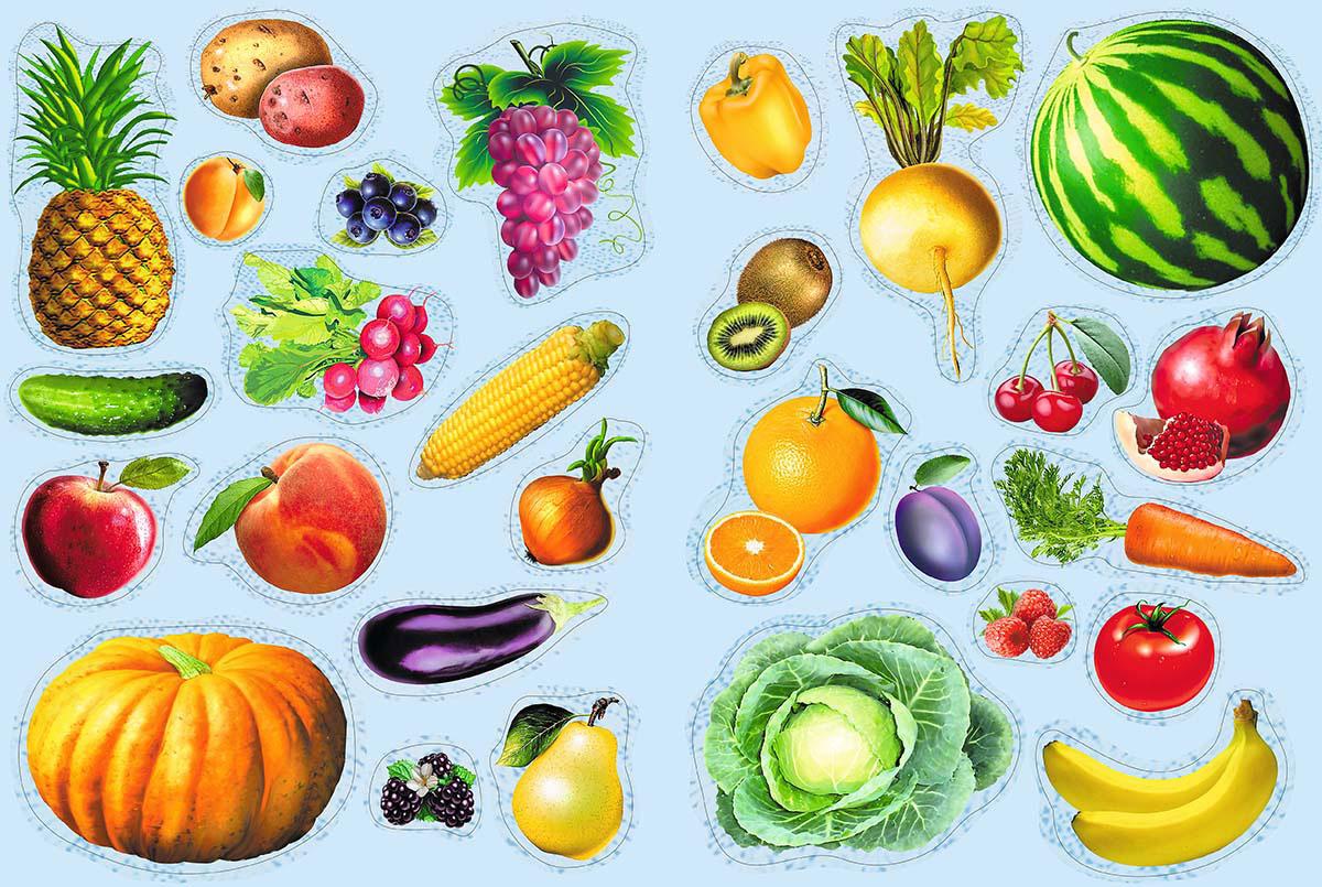 Маленькие картинки с овощами