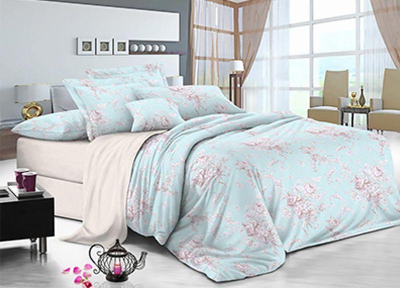 Комплект белья Primavera Небеса, 2-спальный, наволочки 70x7088975Комплект постельного белья Primavera Небеса является экологически безопасным для всей семьи, так как выполнен из высококачественного сатина (100% хлопка). Комплект состоит из пододеяльника на молнии, простыни и двух наволочек. Постельное белье оформлено нежным цветочным рисунком и имеет изысканный внешний вид. Сатин - производится из высших сортов хлопка, а своим блеском и легкостью напоминает шелк. Постельное белье из сатина превращает жаркие летние ночи в прохладные и освежающие, а холодные зимние - в теплые и согревающие. Приобретая комплект постельного белья Primavera Небеса, вы можете быть уверенны в том, что покупка доставит вам и вашим близким удовольствие и подарит максимальный комфорт.