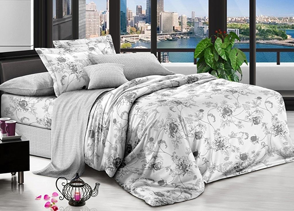 Комплект белья Primavera Классик, 1,5-спальный, наволочки 70x70 комплект белья primavera клетка 2 спальный наволочки 70x70 цвет мультиколор