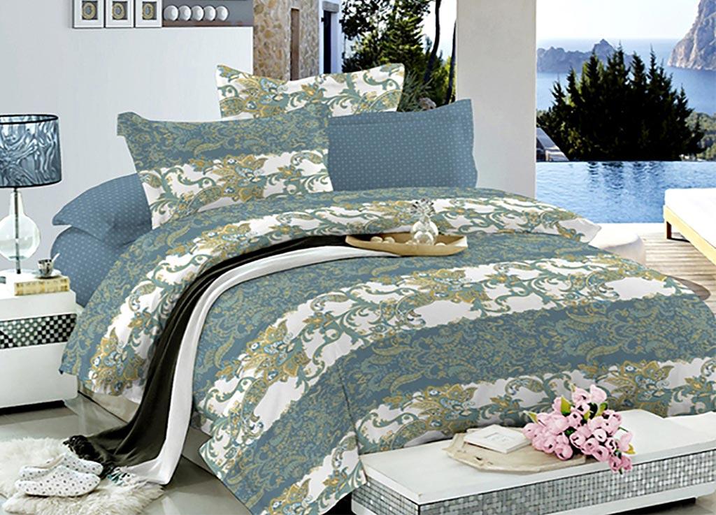 Комплект белья Primavera Вернисаж, 2-спальный, наволочки 70x70 комплект белья primavera клетка 2 спальный наволочки 70x70 цвет мультиколор