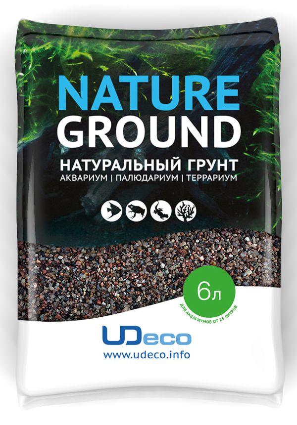 Грунт для аквариума UDeco Коричневый песок, натуральный, 0,6-2,5 мм, 6 лUDC410326Натуральный грунт UDeco Коричневый песок предназначен специально для оформления аквариумов, палюдариумов и террариумов. Изделие готово к применению.Грунт UDeco порадует начинающих любителей природы и самых придирчивых дизайнеров, стремящихся к созданию нового, оригинального. Такая декорация придутся по вкусу и обитателям аквариумов и террариумов, которые ещё больше приблизятся к природной среде обитания.Необходимое количество грунта рассчитывается по формуле:длина аквариума х ширина аквариума х толщина слоя грунта. Предназначен для аквариумов от 25 литров. Фракция: 0,6-2,5 мм.Объем: 6 л.