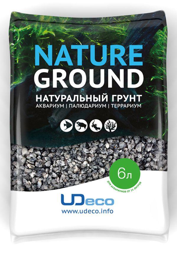 Грунт для аквариума UDeco Серый гравий, натуральный, 4-6 мм, 6 лUDC420256Натуральный грунт UDeco Серый гравий предназначен специально для оформления аквариумов, палюдариумов и террариумов. Изделие готово к применению.Грунт UDeco порадует начинающих любителей природы и самых придирчивых дизайнеров, стремящихся к созданию нового, оригинального. Такая декорация придутся по вкусу и обитателям аквариумов и террариумов, которые ещё больше приблизятся к природной среде обитания.Необходимое количество грунта рассчитывается по формуле:длина аквариума х ширина аквариума х толщина слоя грунта. Предназначен для аквариумов от 25 литров. Фракция: 4-6 мм.Объем: 6 л.